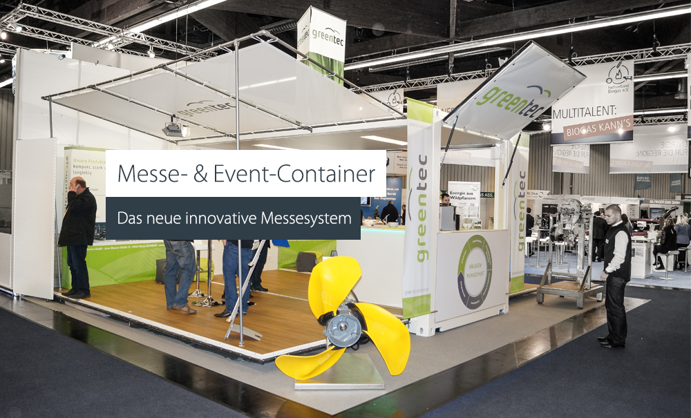 Messe- & Event-Container - Das neue innovative Messesystem